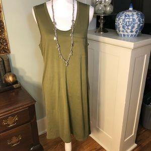 J Crew Slimline Dress w/ Pocket